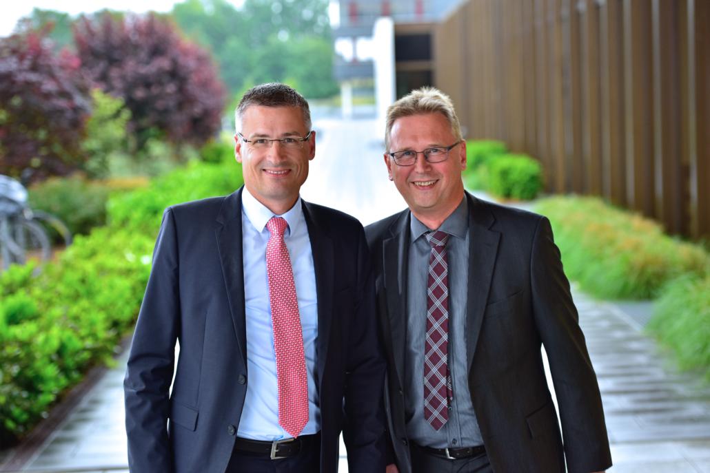 Tobias Lauströer und Hans-Jürgen Wagener - Geschäftsführer